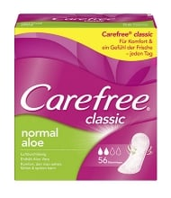 Carefree® classic normal aloe