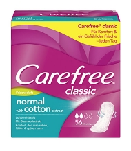 Carefree® classic normal with cotton extract Frischeduft