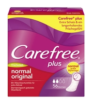Carefree® plus normal original Frischeduft