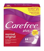 Carefree® plus normal original