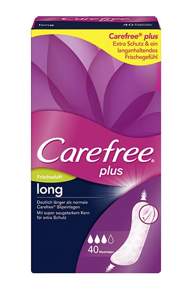 Carefree® plus long Frischeduft