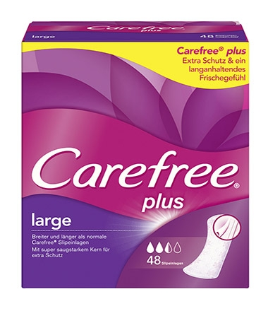 Carefree® plus large