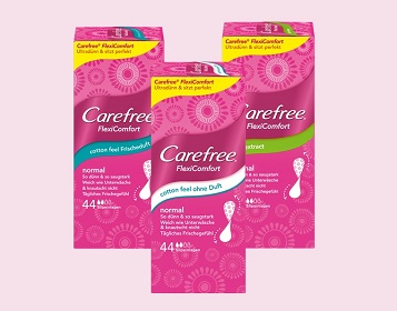 Carefree®FlexiComfort